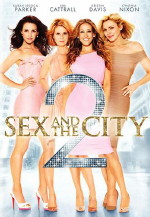 Sex and The City 2 DVD cover art