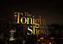Tonight Show with Jay Leno title