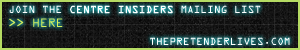 Join the Centre Insiders Mailing List