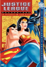 Justice League Season One DVD cover art