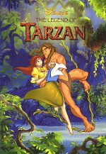 The Legend of Tarzan art