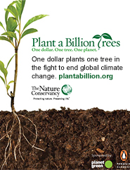 Plant a Billion Trees ad