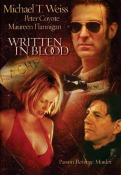 Written in Blood DVD Cover Art