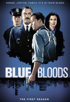 Blue Bloods DVD Cover Art (Season 1)