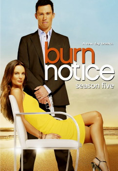 Burn Notice DVD Cover Art (Season 5)