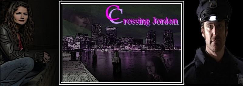 Crossing Jordan Banner by Merian H.