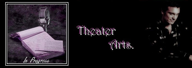 Theater Arts Banner by Merian H.