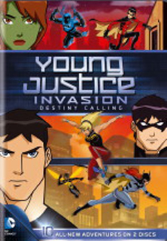 Young Justice Season 2, Volume 1 DVD Cover
