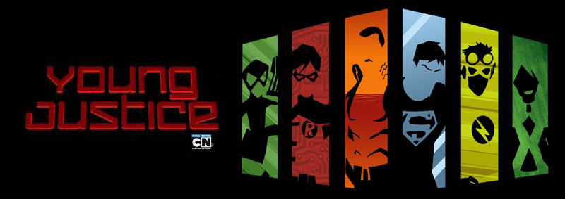 Young Justice Banner by Karen