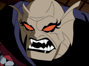 Real Name: Etrigan  Voiced by Michael T. Weiss