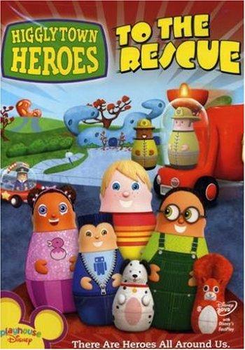 Higglytown Heroes DVD cover art