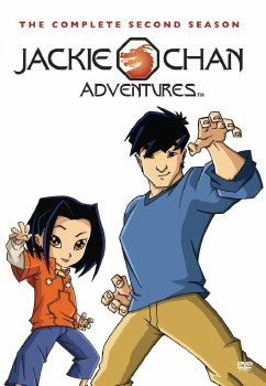 Jackie Chan Adventures DVD Cover Art Season 2