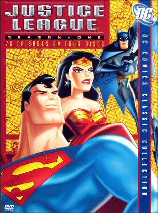 Justice League DVD cover art