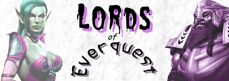 Lords of Everquest game cover art