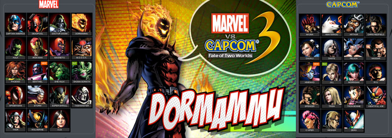 Marvel vs Capcom 3 banner