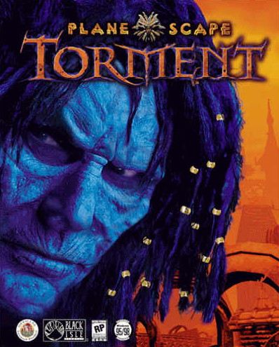 Planescape Torment Game Cover art