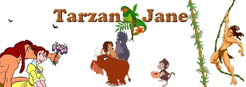 Tarzan and Jane banner
